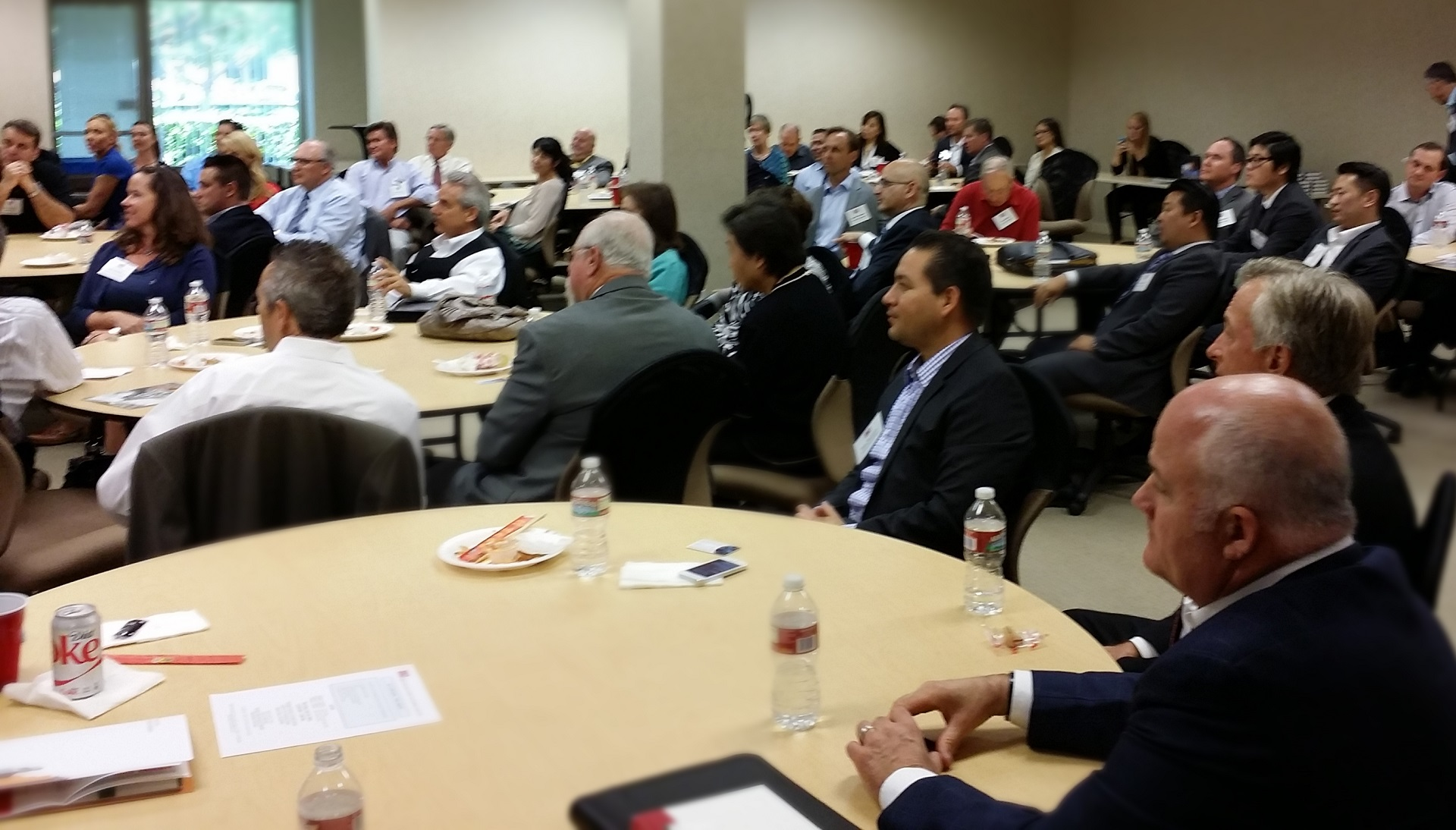 Business Leaders at Networking Luncheon