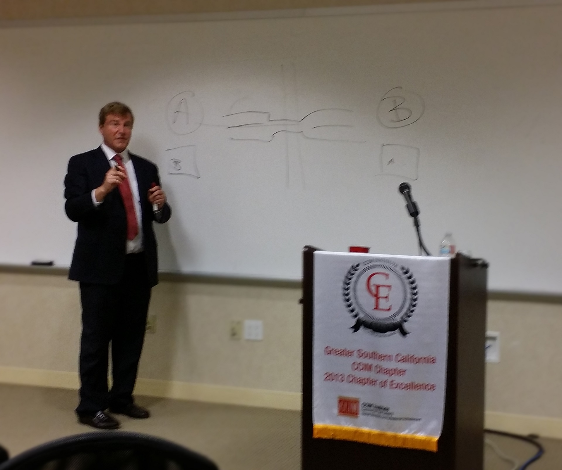 Leigh Steinberg during Conference