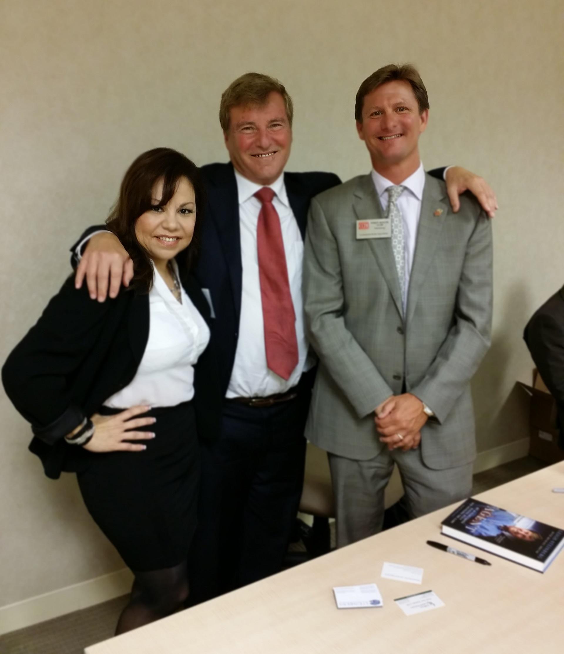 Randy Mason, Deborah Pierson, and Leigh Steinberg