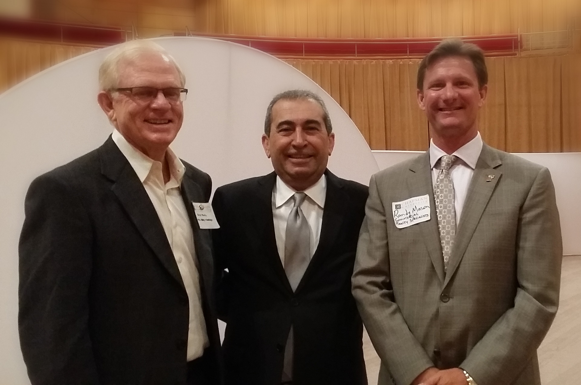 Randy Mason with Local Business Leaders